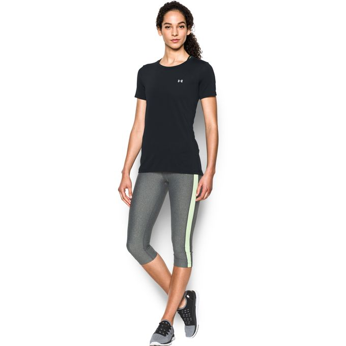 Under Amour Damen Sportshirt UA HG ARMOUR SS