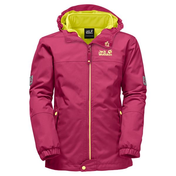 Jack Wolfskin ICELAND 3IN1 Girls 3-in-1 Hardshell