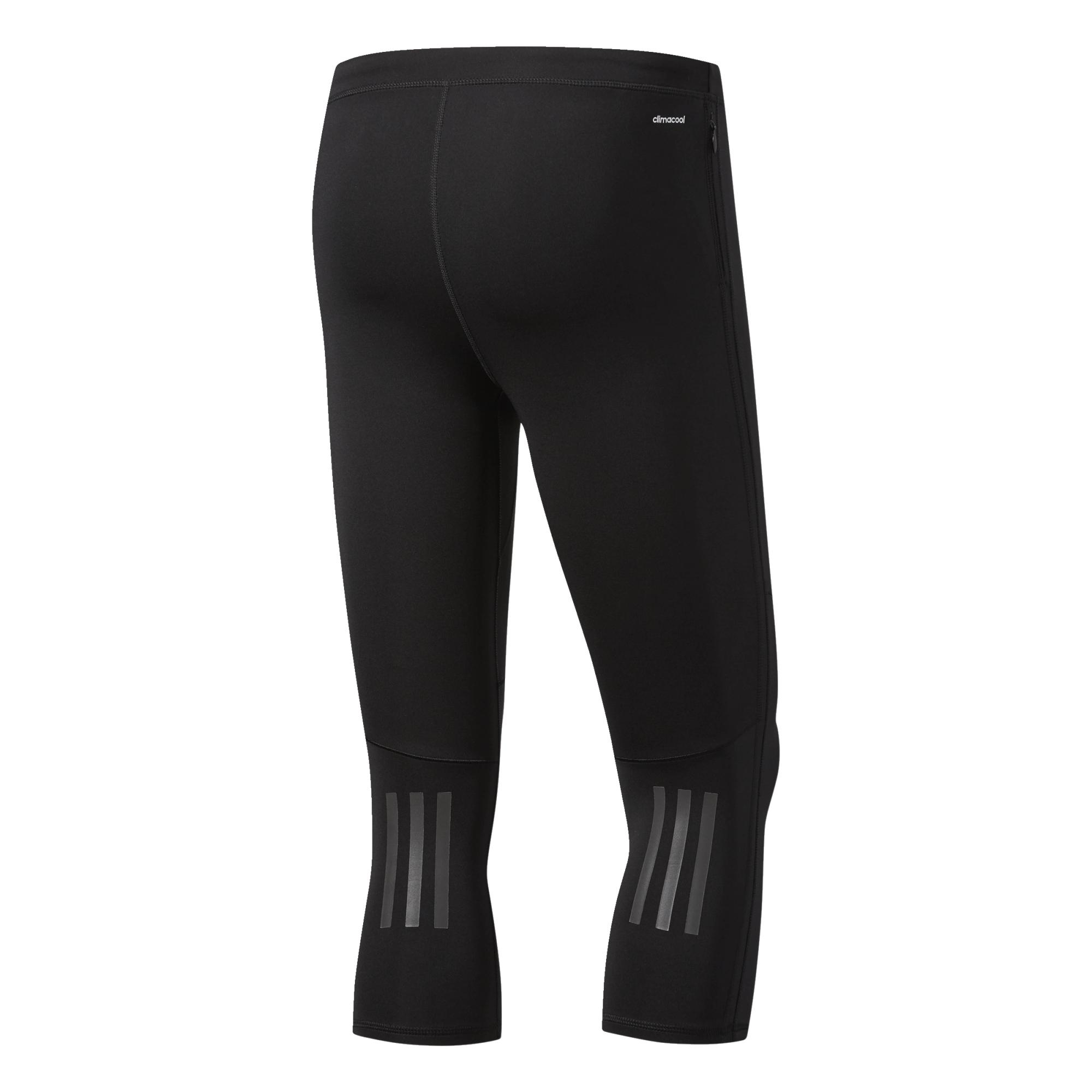 Details zu adidas Response 34 Tight Herren Laufhose Runningcapri Jogging Sporthose