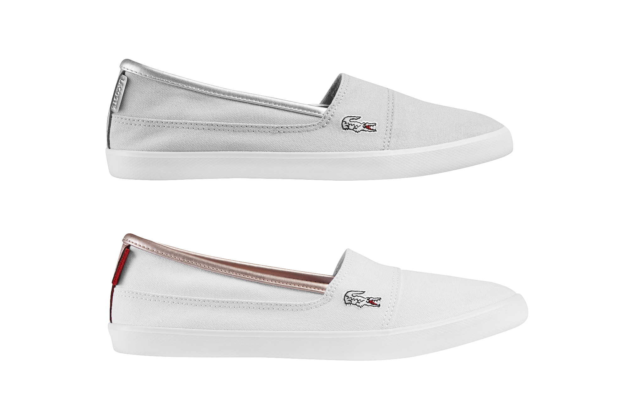 lacoste marice 217 2 caw damen freizeitschuh slipper sommerschuh ebay. Black Bedroom Furniture Sets. Home Design Ideas