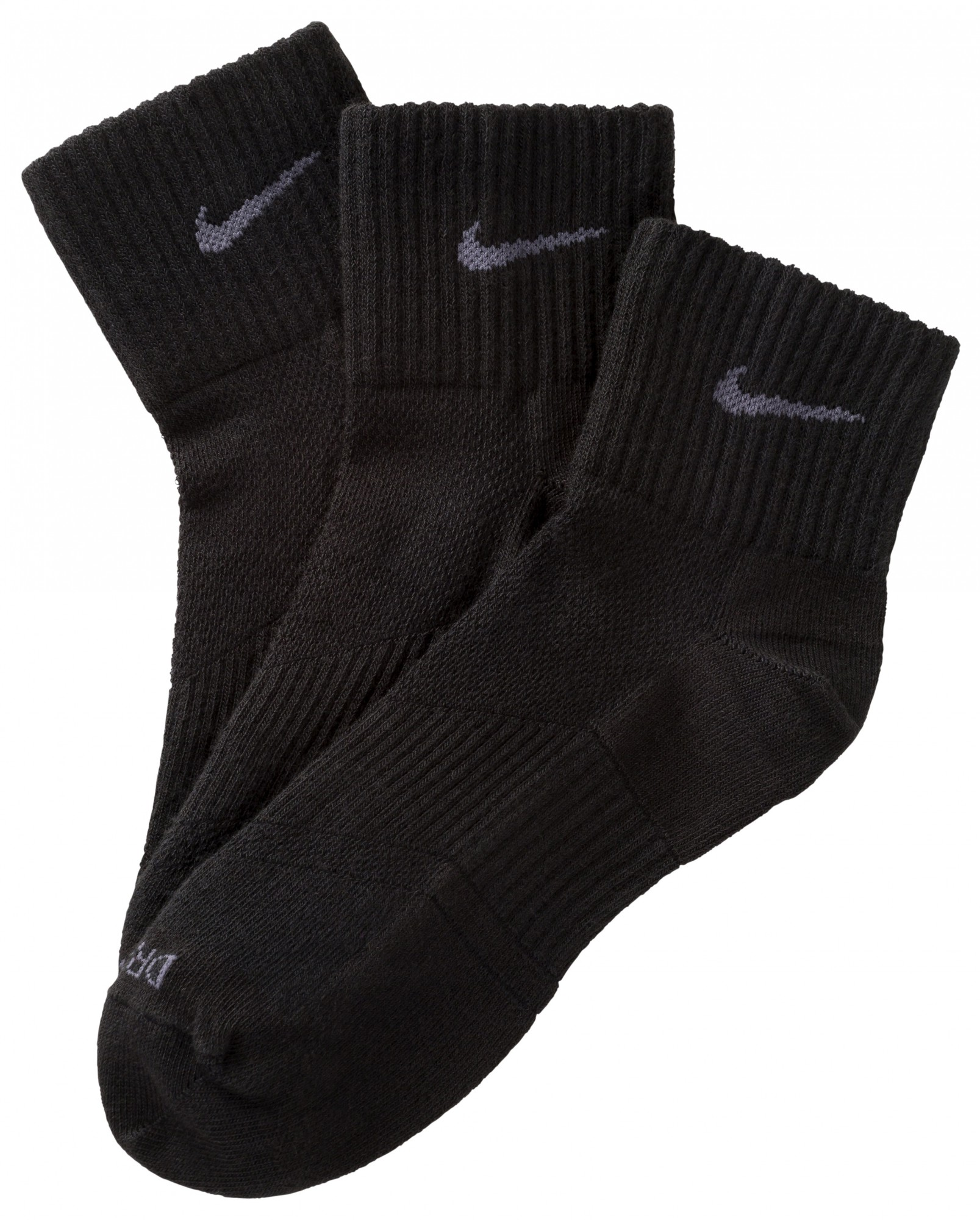 nike socken 3er pack str mpfe sportsocken schwarz oder. Black Bedroom Furniture Sets. Home Design Ideas