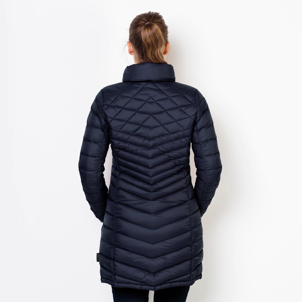 Details zu Jack Wolfskin RICHMOND COAT Damen Mantel Outdoormantel Daunenmantel