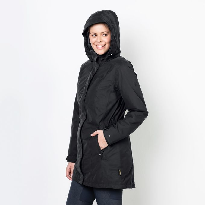 Jack Wolfskin MADISON AVENUE COAT phantom