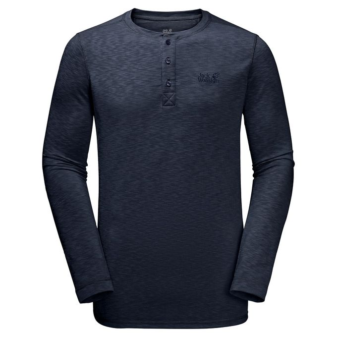 Jack Wolfskin WINTER TRAVEL HENLEY MEN