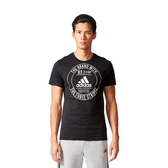 adidas T-Shirt ESS adidas Badge Regular Tee