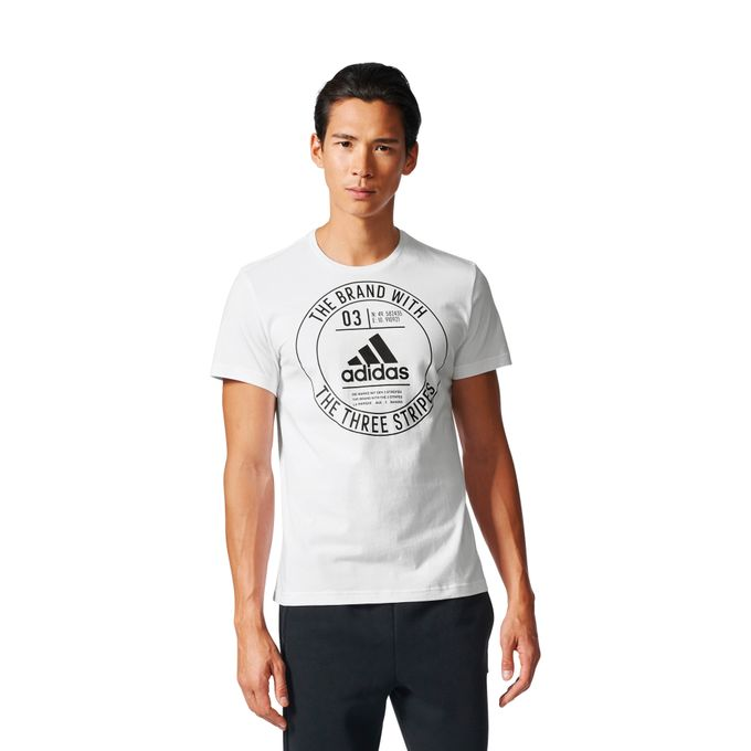 adidas ESS Badge Regular Tee