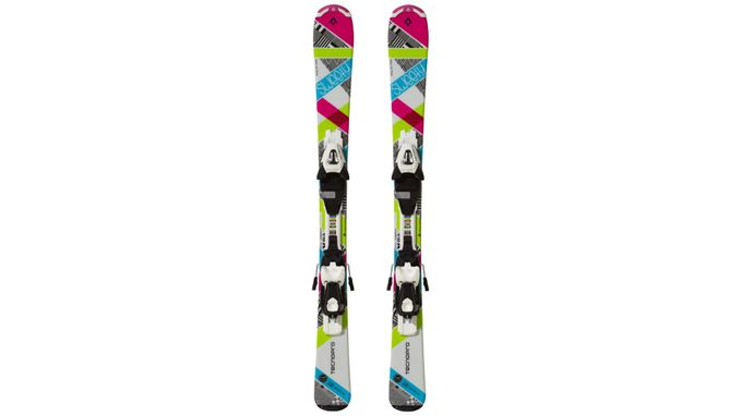 TecnoPro Alpine Kinderski Ski-Set Sweety E.