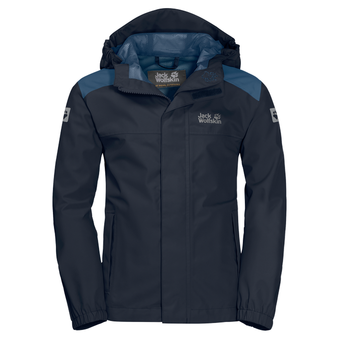 Jack Wolfskin Kinderjacke OAK CREEK JACKET night blue