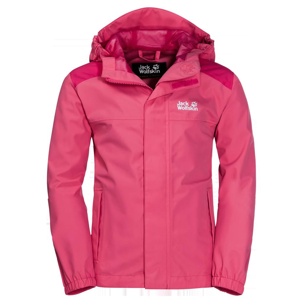 Wolfskin Creek Pink Hot Kinderjacke Oak Jacket Jack Iy7bfvmY6g