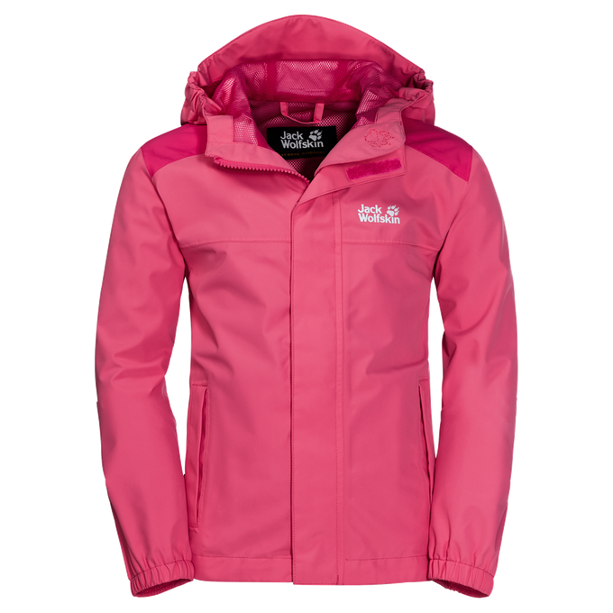 Jack Wolfskin Kinderjacke OAK CREEK JACKET hot pink