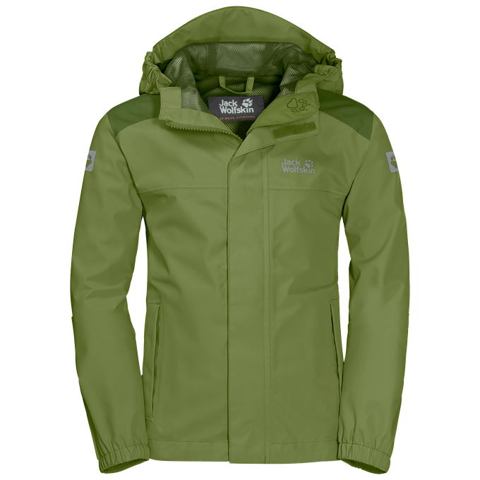 Jack Wolfskin Kinderjacke OAK CREEK JACKET fern
