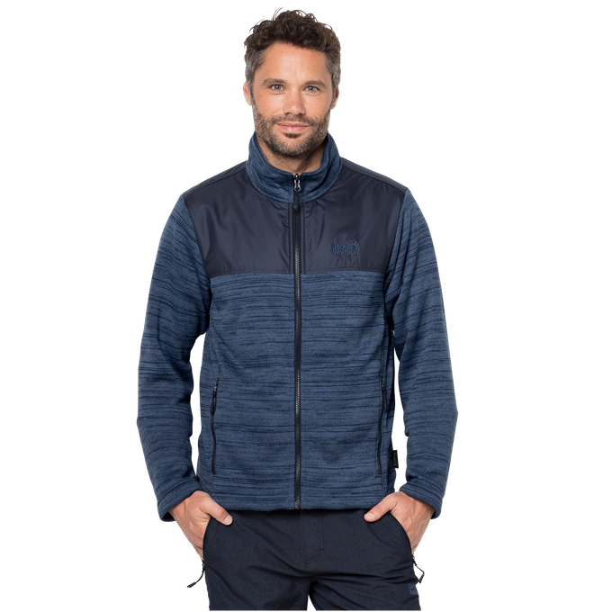 Jack Wolfskin Fleecejacke Aquila Jacket Men ocean wave