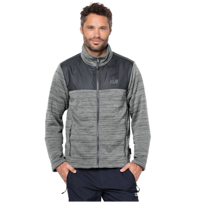 Jack Wolfskin Fleecejacke Aquila Jacket Men alloy
