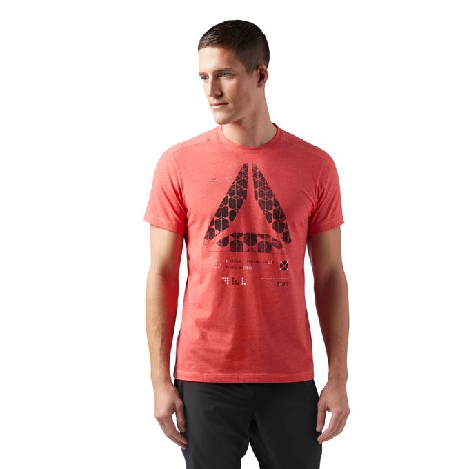 Reebok SpeedWick Graphic Tee