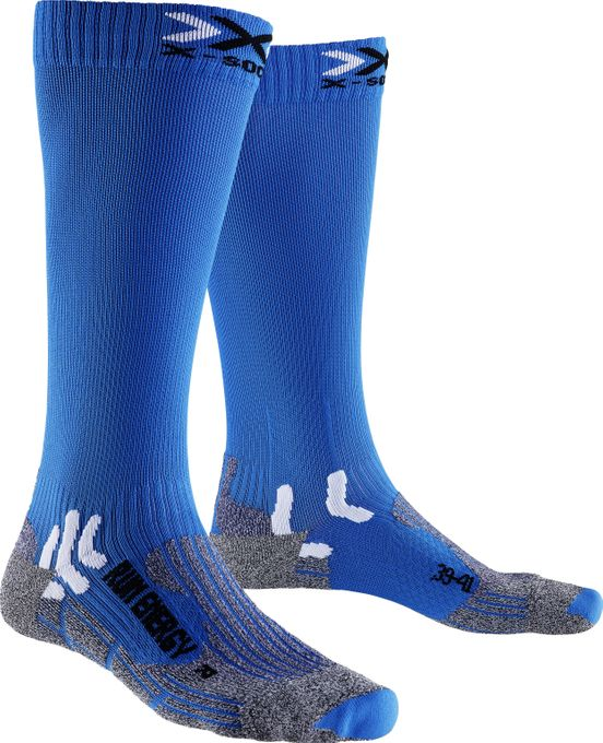X-Bionic Laufsocken Run Energizer frensh blue
