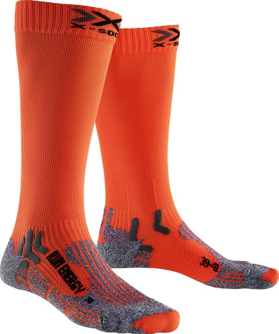 X-Bionic Laufsocken Run Energizer orange