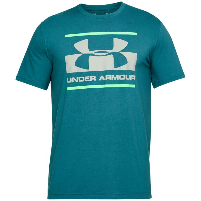 Under Armour Herren T-Shirt Blocked Sportstyle Logo