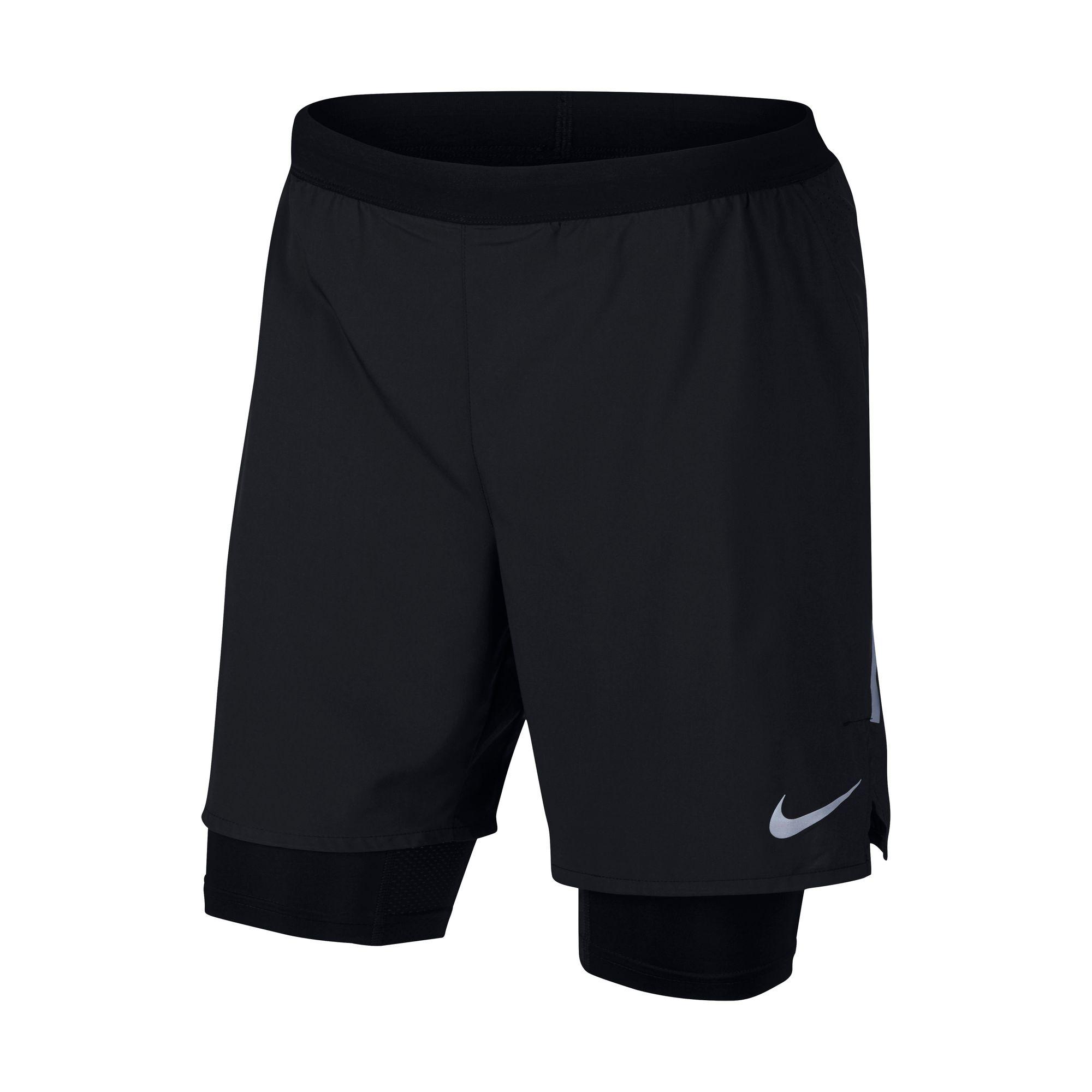 887471709ae4ab Nike Herren Laufhose FLX DSTNCE SHRT 7IN 2IN1 001