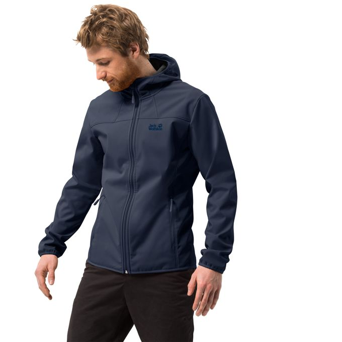 Jack Wolfskin NORTHERN POINT Jacke night blue