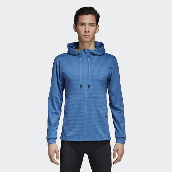 adidas Textured Workout Kapuzenjacke