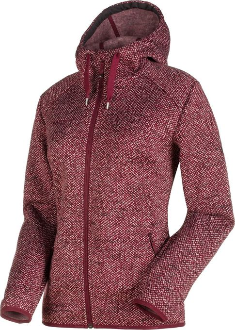 Mammut Damen Fleecejacke Chamuera ML Hooded Jacket