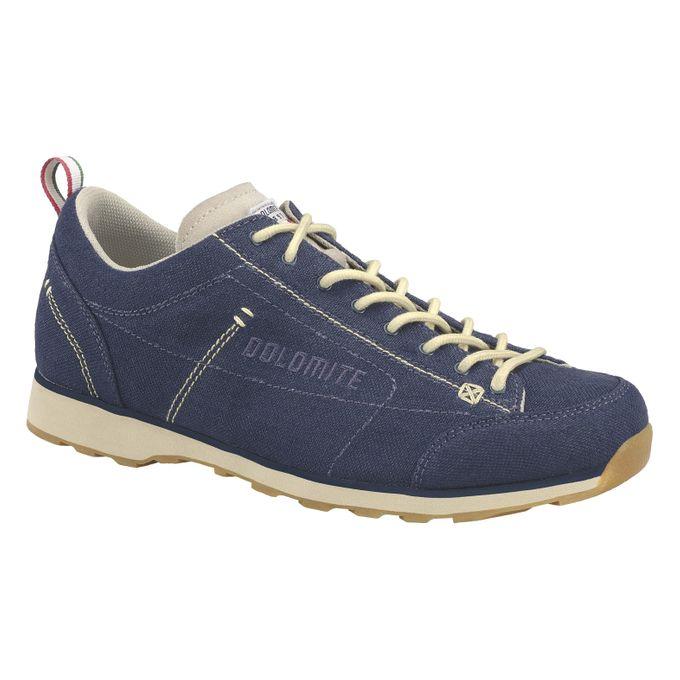 DOLOMITE  Shoe Cinquantaquattro Canvas Navy/Canapa