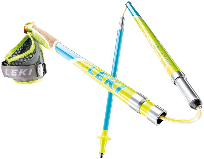 Leki Nordic Walking Stock Micro Flash Carbon