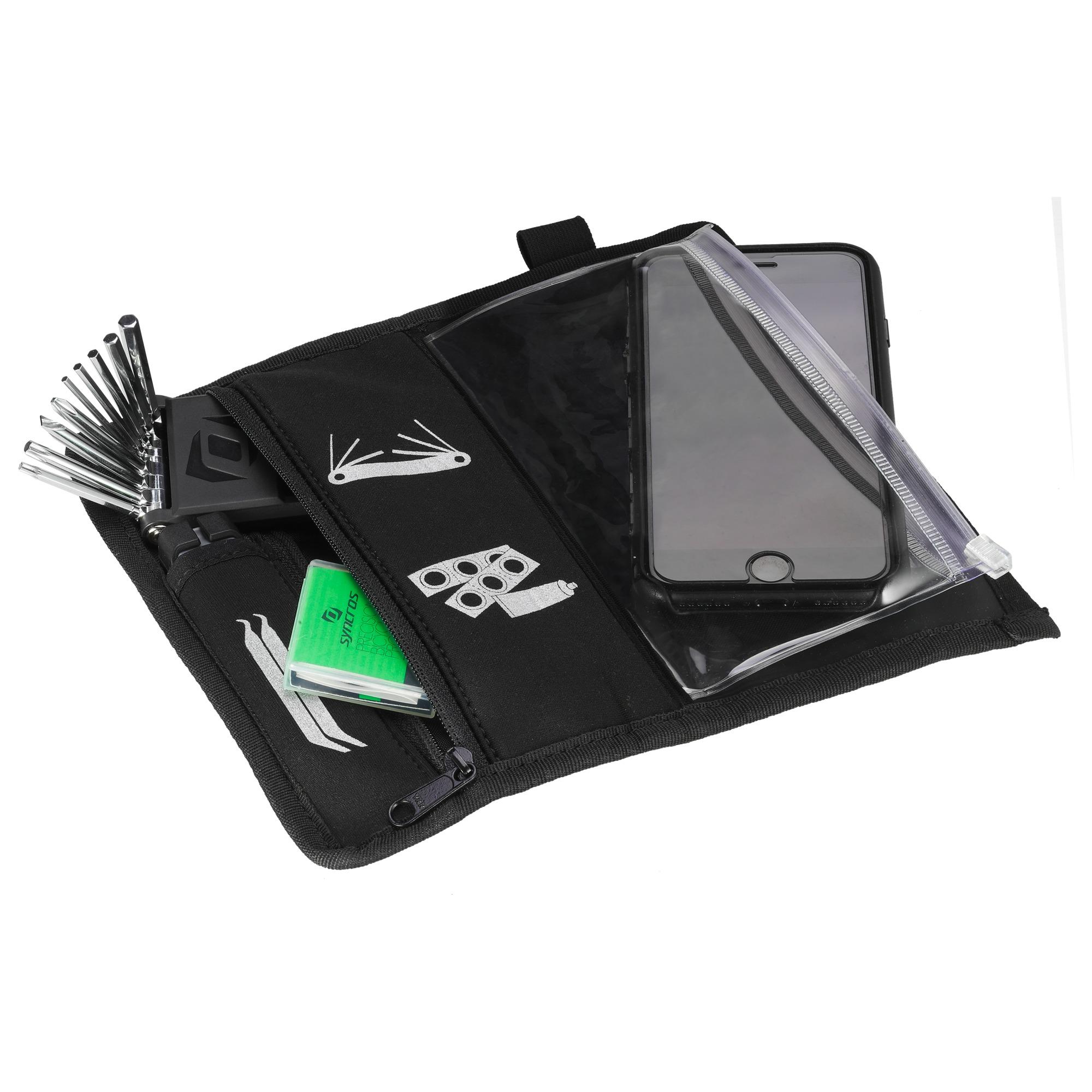 Syncros Ride Wallet black Satteltasche