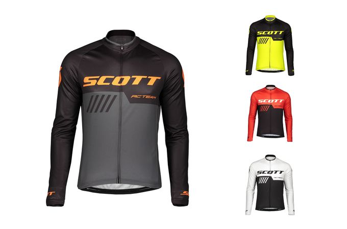 SCOTT RC Team 10 Langarm-Shirt