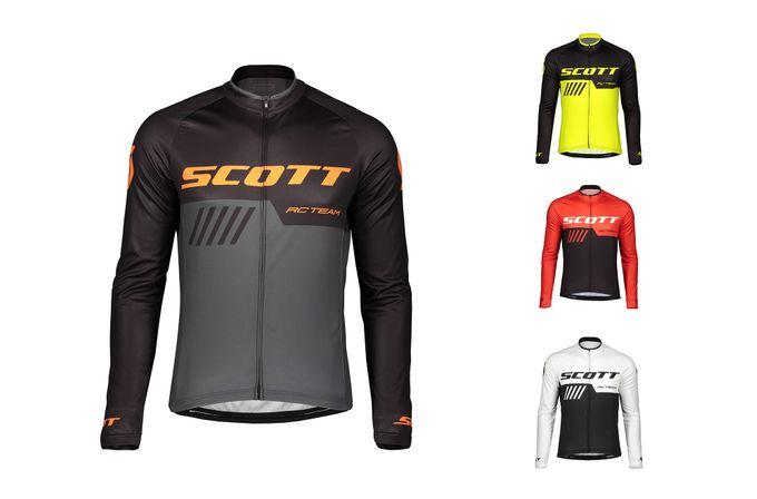 SCOTT RC Team 10 Langarm-Shirt