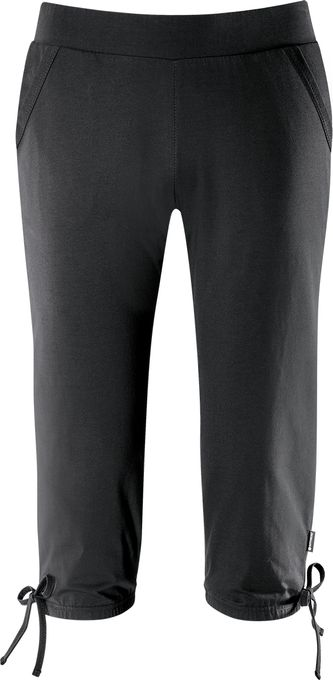 schneider sportswear AURORAWW 3/4 Hose schwarz Damen