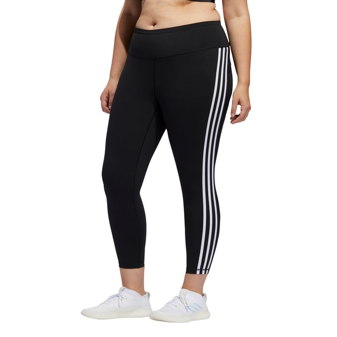 adidas Damen Trainingshose -STRIPES 7/8 LEGGINGS