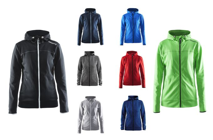 Leisure Full Zip Hood W Trainingsjacke