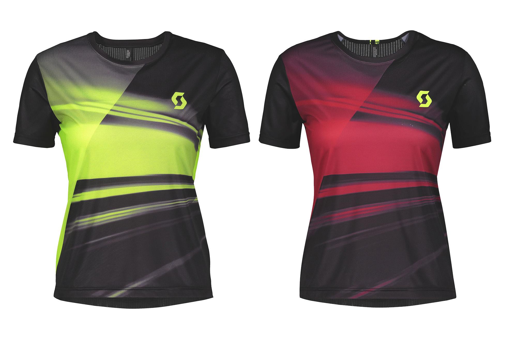 Scott Shirt M/'s RC Run Black Yellow Herren Laufshirt Kurzarm Schwarz Gelb