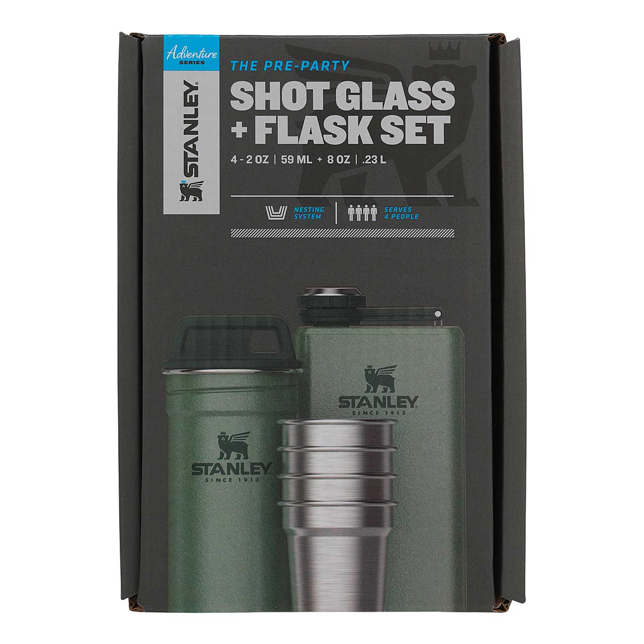 Stanley ADVENTURE SHOT & FLASK GIFT SET 236 ml