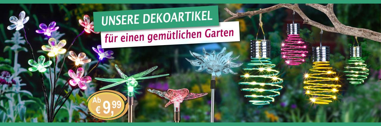 Garten Deko