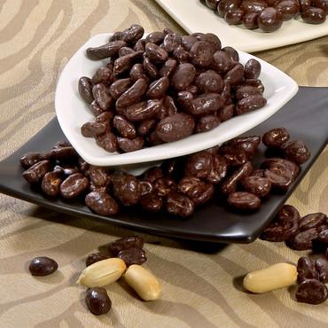 Schokolierte Nascherei, Erdnüsse