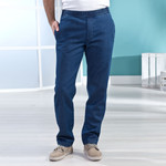 Thermojeans, blauw 001