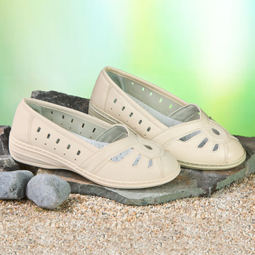 Damen-Schuh, beige