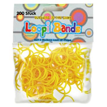Loopi Bands , Loopi Bands, gelb – Bild 1