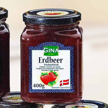 Vruchtenmarmelade, Aardbeien – Bild 1