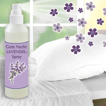 Gute Nacht Lavendel-Spray, 250 ml
