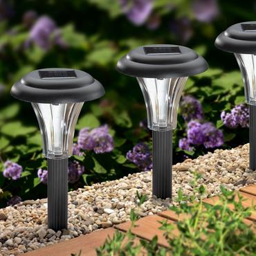 Solar-Leuchte, 4 Stück – Bild 2