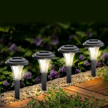 Solar-Leuchte, 4 Stück – Bild 1