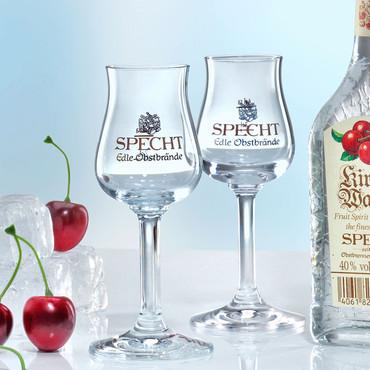 Elegantes Schnapsglas »Specht« – Bild 1