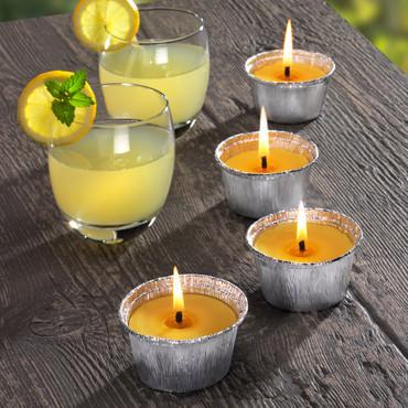 Bougies citronnelle, 4 pièces