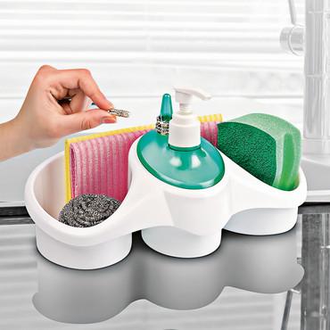 Afwasbutler met dispenser