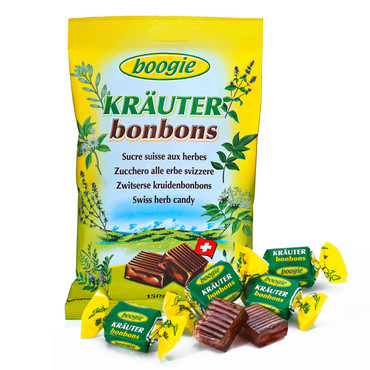 Bonbons suisses aux plantes