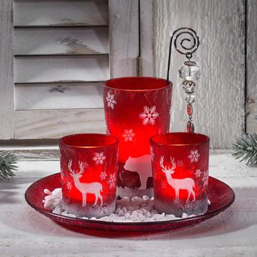 Teelichthalter-Set »Winter«, 5-teilig