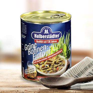 Potages et soupes-repas d'Halbstadt , Soupe de haricots verts